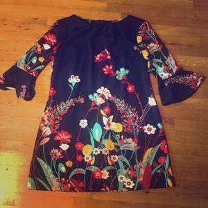 Floral Stretch Go-Go Dress